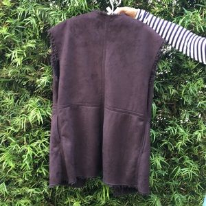 Velvet by Graham & Spencer Sweaters - Velvet faux fur vest